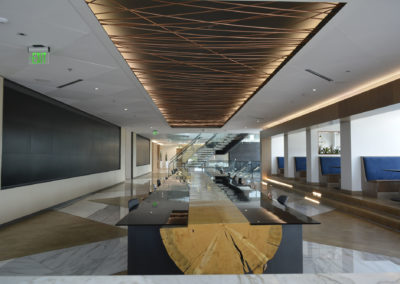British Petroleum HQ Working & Eating Area