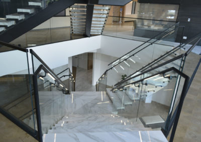 British Petroleum HQ Stairs Looking Down