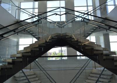British Petroleum HQ Stairs