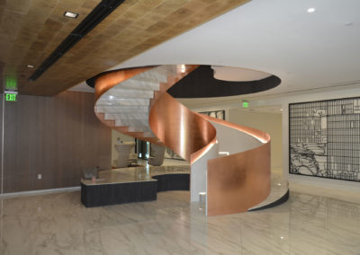 British Petroleum HQ Spiral Stairs