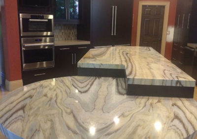 Private Residence Kitchen stone