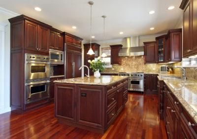 Luxury Residential Kitchen Granite Countertops