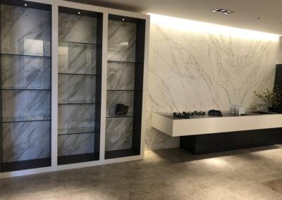 Stone Display Shelves