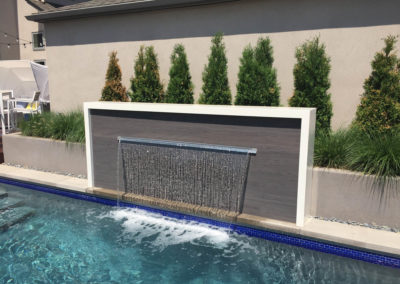 Private Residence Waterfall